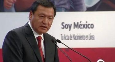 Osorio Chong renuncia a la Secretaría de Gobernación