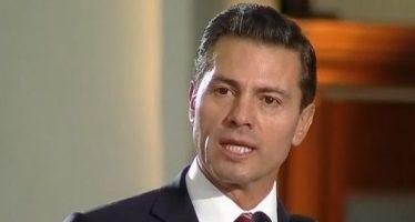 Peña Nieto: No puede haber perdón ni olvido para delincuentes