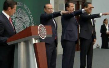 Peña Nieto anuncia cambios en Segob, Trabajo y Sedesol