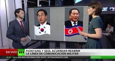 Las Coreas acuerdan reabrir línea directa para asuntos militares