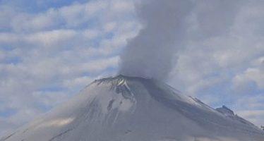 Popocatépetl presenta 306 exhalaciones de baja intensidad