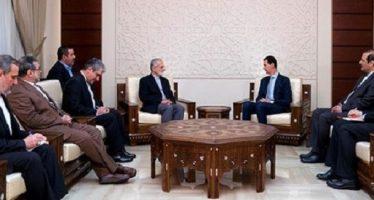Denuncia Assad la política terrorista de Turquía
