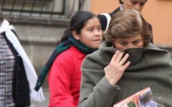Protección Civil exhorta a capitalinos a protegerse del frío