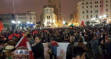Cuarta movilización contra el indulto presidencial a Fujimori
