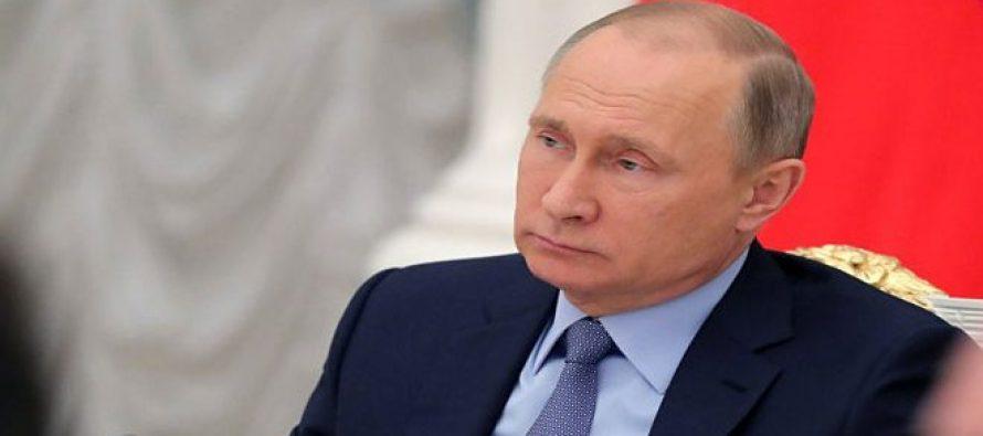 Putin convoca reunión del Consejo de Seguridad de Rusia