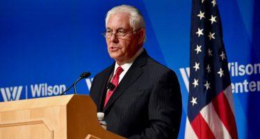 Tillerson visitará México el 1 y 2 de febrero