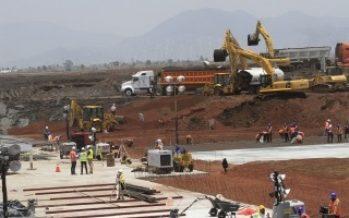SCT reitera que primera etapa del aeropuerto estará a finales de 2020