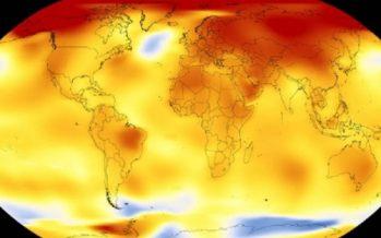Se mantuvo en 2017 tendencia de calentamiento global de la Tierra