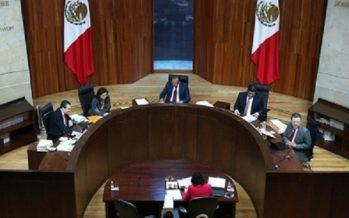 Tribunal Electoral de acuerdo con fiscalización de comicios