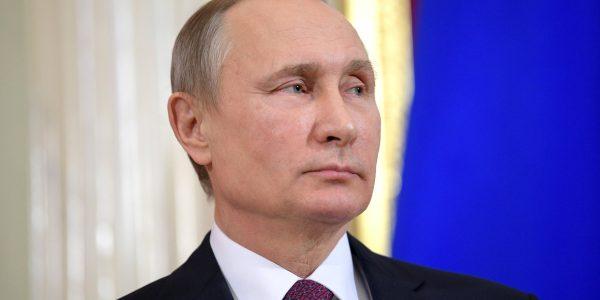 Vladimir Putin. (Wikimedia Commons)