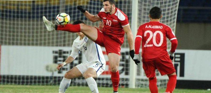 Selección Olímpica siria tiene encuentro con su par vietnamita