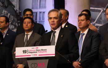Mancera deja el Gobierno de la Ciudad de México