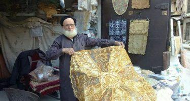 Abu Subeih, primero en retornar con sus bordados alepinos