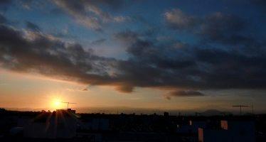 Alta radiación solar y mala calidad del aire en el Valle de México