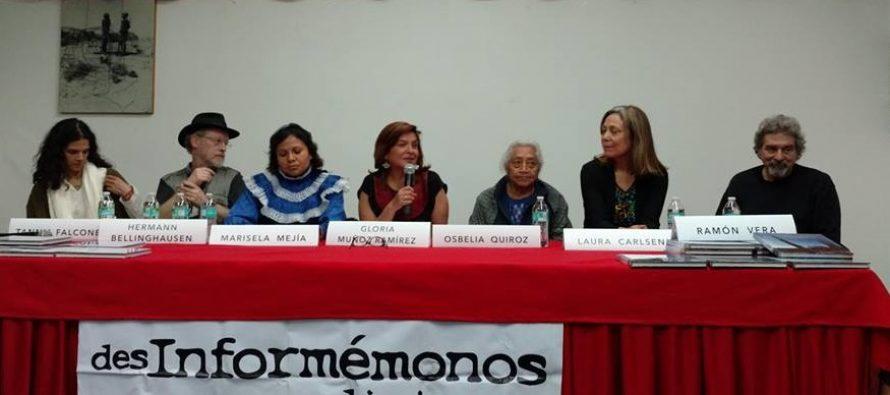 """Se presentó """"Flores en el Desierto"""" en el Club de Periodistas de México"""