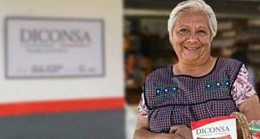 Diconsa ayuda a sector vulnerable con cinco mil comedores comunitarios