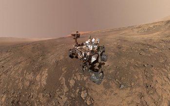 Curiosity captura imágenes panorámicas de Marte