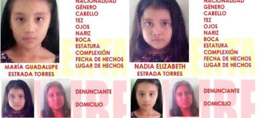 Emiten Alerta Ámber en Nuevo León por dos niñas desaparecidas