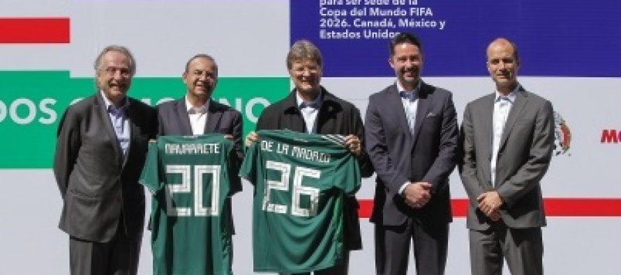 FMF recibe de Gobierno Federal garantías para candidatura a Mundial 2026