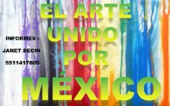 JaBe Art y el arte unido por México apoyará a damnificados del pasado 19S