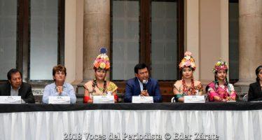 Todo listo para la fiesta de la Flor Más Bella del Ejido en Xochimilco