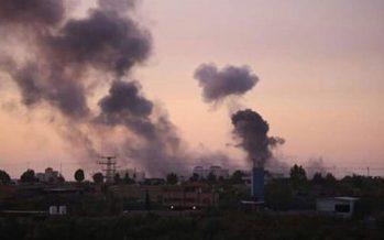 Las fuerzas israelíes de Ocupación hieren a 20 palestinos