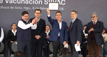 Hidalgo cuenta ya con la Cartilla de Vacunación Electrónica