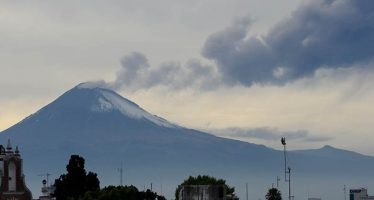 Popocatépetl registra 49 exhalaciones de baja intensidad