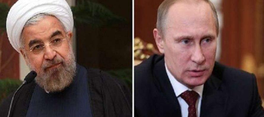 Putin y Rouhani examinan los resultados del diálogo inter-sirio