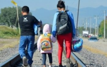 Reportan disminución de niños migrantes que viajan solos
