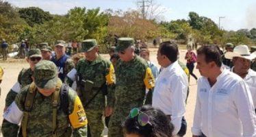 Cienfuegos externa compromiso con la población de Jamiltepec