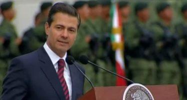 Seguiré ejerciendo Presidencia estrictamente democrática Peña Nieto