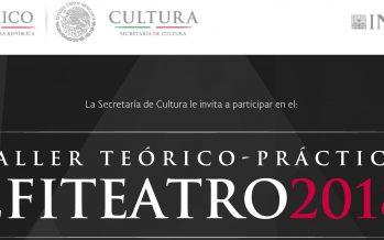 El INBA, a través de su Coordinación Nacional de Teatro organizará una gira informativa sobre Efiteatro