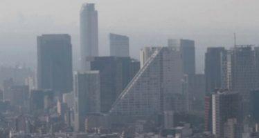 Tarde de martes con mala calidad del aire en el Valle de México