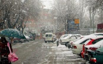 Temporal de nieve causa grandes afectaciones en España