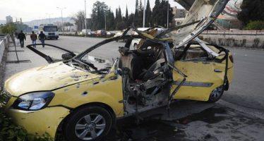 Cinco víctimas mortales en ataques terroristas contra Damasco