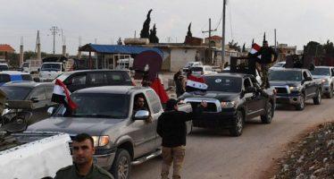 Entran nuevos grupos de fuerzas populares en Afrín