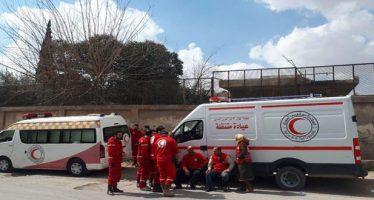 Terroristas impiden la salida de civiles de Ghouta