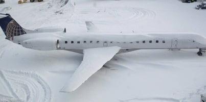 Aeroméxico cancela cinco vuelos hacia Nueva York por tormenta de nieve. Foto: NOTIMEX