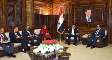 Al-Hilal se reúne con el vicecanciller cubano