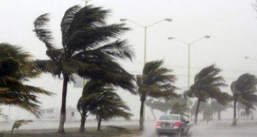 Alerta amarilla en 16 delegaciones por pronóstico de vientos fuertes