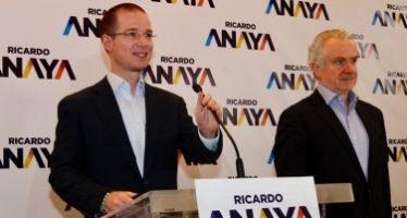 Anaya presentó a Jorge Castañeda como coordinador estratégico