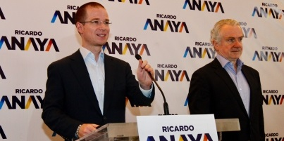 Castañeda se suma a campaña de Anaya como coordinador estratégico. Foto: NOTIMEX