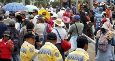 Complicarán la vialidad ocho manifestaciones en la CDMX
