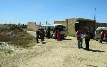 Ejército asegura salida de partida de civiles en Ghuta Oriental
