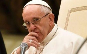 El Papa celebrará Jueves Santo y lavado de pies en cárcel romana