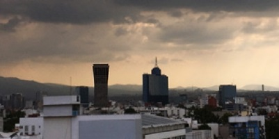Este domingo se prevé nublados y posible lluvia en la Ciudad de México. Foto: NOTIMEX