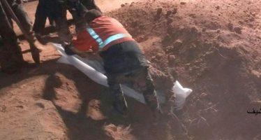 Encuentra Ejército sirio fosa común con víctimas de Daesh