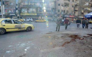 Dos civiles resultan heridos en morterazos terroristas