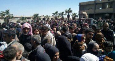 Cientos de civiles abandonan Guta Oriental